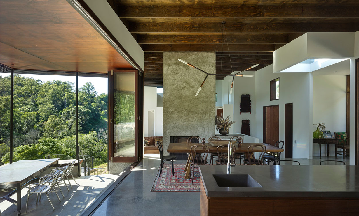 Projects davenport wilson shane thompson architects for Patios minimalistas